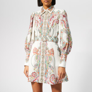 Zimmermann Women's Ninety-Six Shirt Dress - Lennon Paisley