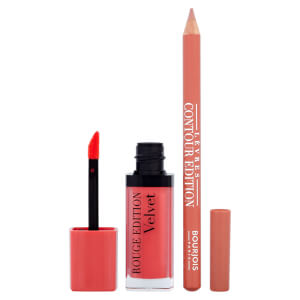 Bourjois Lip Kit -huulimeikkisetti, Peach Club