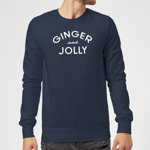 Ginger and Jolly Christmas Sweatshirt - Navy