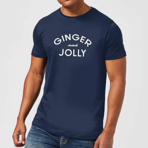 Ginger and Jolly Men's Christmas T-Shirt - Navy