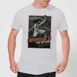 Ninjesus 2: The Return Men's Christmas T-Shirt - Grey