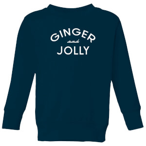 Ginger and Jolly Kids' Christmas Sweatshirt - Navy