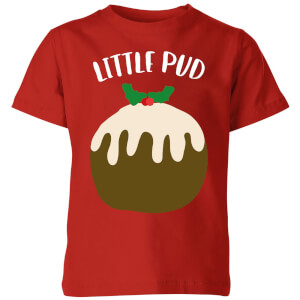 Little Pud Kids' Christmas T-Shirt - Red