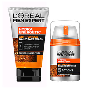L'Oréal Men Expert Hydra Energetic Regime Kit (Worth £15.98)