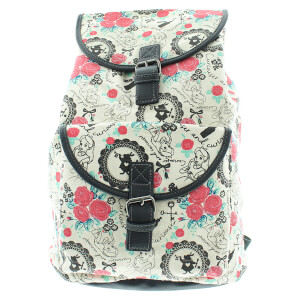 Loungefly Disney Alice in Wonderland Rabbit Floral Aop Backpack