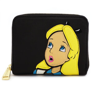 Loungefly Disney Alice in Wonderland Surprised Zip Around Wallet
