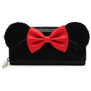 Disney Loungefly Cartera con Cremallera Lentejuelas Minnie Mouse