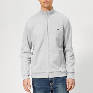 Lacoste Men's Full Zip Pique Top - Grey