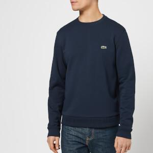 Lacoste Men's Classic Embossed Logo Crew Sweatshirt - Navy