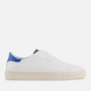 Axel Arigato Men's Clean 90 Leather Trainers - White/Blue