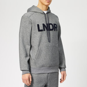 LNDR Men's Tech-Preme Hoodie - Grey Marl
