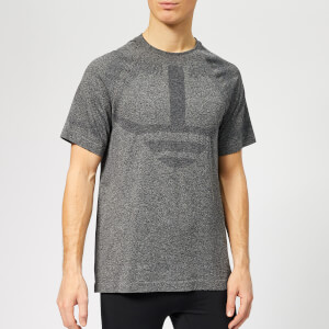 LNDR Men's Iron Short Sleeve T-Shirt - Charcoal Marl