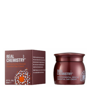 Real Chemistry Environmental Rescue Essential Day Cream Mini Jar w/ Deluxe Carton 20ml