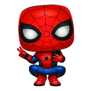 Marvel Spider-Man Far From Home - Spider-Man mit Held Hosenanzug Pop! Vinyl Figur