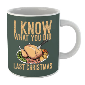 I Know What You Did Last Christmas Mug