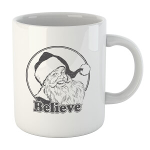 Believe Grey Mug