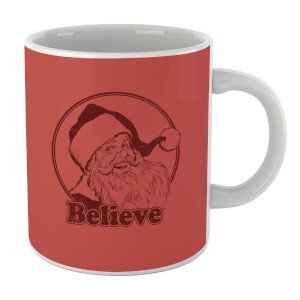 Believe Red Mug
