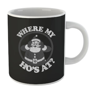 Where My Ho's At Black Mug
