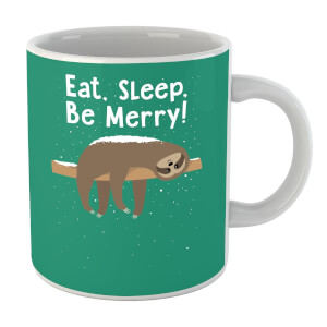 Eat, Sleep, Be Merry Mug