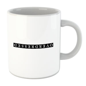Overdressed Black Mug