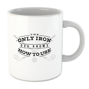 Dad's Only Iron Mug