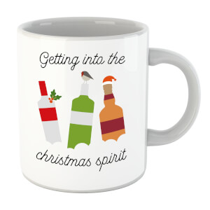 Getting Into The Christmas Spirit Mug