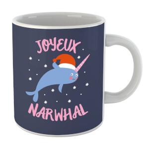 Joyeux Narwhal Mug