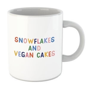 Snowflakes and Vegan Cakes Mug