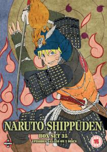 Naruto Shippuden Box 35 (Episodes 445-458)