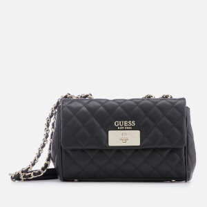 Guess Women's Sweet Candy Convertible Cross Body Bag - Black