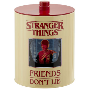 Stranger Things (Retro Poster) Cookie Jar