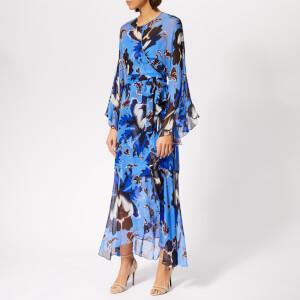 Diane von Furstenberg Women's Lizella Dress - Phoenix Floral Hydrangea