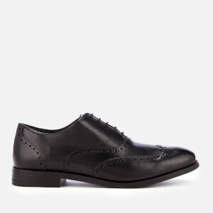 Clarks Men's Edward Walk Leather Oxford Shoes - Black