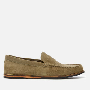 Clarks Men's Whitley Free Suede Loafers - Olive