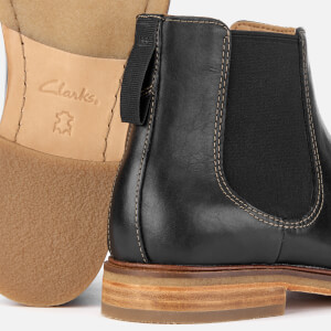 Clarks Men's Clarkdale Gobi Leather Chelsea Boots - Black: Image 4