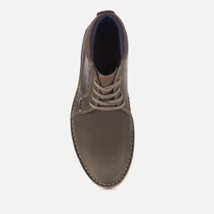 Clarks Men's Vargo Mid Leather Chukka Boots - Olive: Image 3