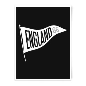 England Pennant Art Print