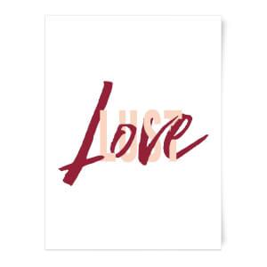 Love & Lust Art Print