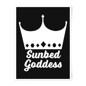 Sunbed Goddess Art Print