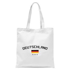 Deutschland Tote Bag - White
