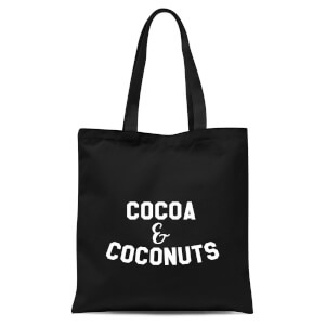 Cocoa and Coconuts Tote Bag - Black