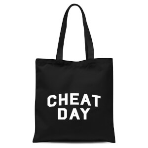 Cheat Day Tote Bag - Black