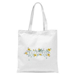 Wallflower Tote Bag - White