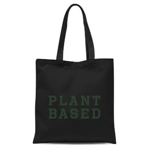 Plant Based Tote Bag - Black