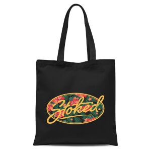 Stoked Tote Bag - Black