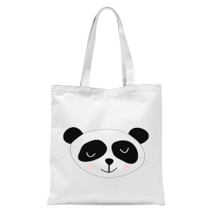 Panda Tote Bag - White