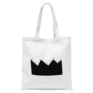 Crown Tote Bag - White