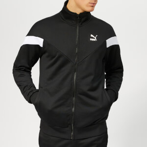 Puma Men's Iconic MCS Track Jacket - Puma Black