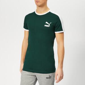 Puma Men's Iconic T7 Slim Short Sleeve T-Shirt - Ponderosa Pine