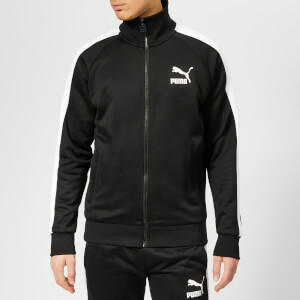 Puma Men's Iconic T7 Track Jacket - Puma Black